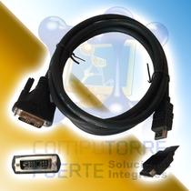 Cable Hdmi A Dvi-d 1.8 Metros Hd Lcd Plasma Pc Laptop Xbox