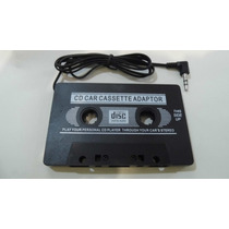 Juego 2 Cassete Adaptador Mp4, Mp3, Discman, Estereo, Auto.