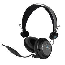 Audifono Microfono Cristal Sound Acteck Af-540 Negra +c+