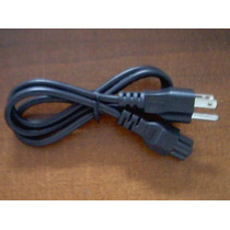 Cable De Corriente Laptop 3 Conectores Proyector Adaptador