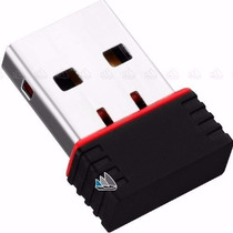 Tarjeta Red Inalambrica Wifi Usb 300 Mts 150mbps & Cd Driver
