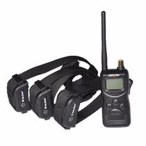 Entrenador Perros Petrainer 1000 Yd Dog 3 Collares E-collar