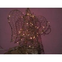 Árbol De Navidad Iluminado De Metal