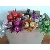Picks Navideños Para Coronas De Navidad Y Del Arbol