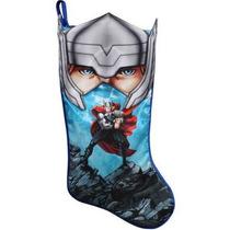 Bota Navideña De Thor Marvel Avengers Nueva De Importación.