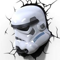 Star Wars Stormtrooper Lampara 3d Preventa Force Awakenes