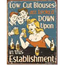 Poster Metalico Litografia Lamina Decorativa Humor De Bar Es