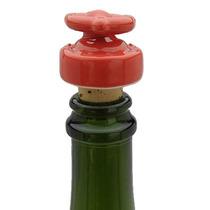 Tapón De Botella De Vino Ceramica Corcho Diseño Belafonte