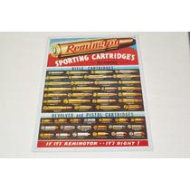 Tsn1001 Letrero Lamina Decorativa Remington Cartridges Vv4