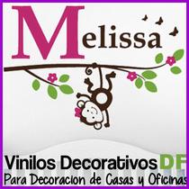 Vinilos Decorativos De Ramas Infantiles Nombres Changuitos