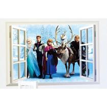 Frozen Elsa Sticker Pared 60 X 45cm