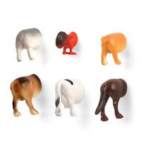 Imanes En Forma De Traseros De Animales Granja Decorativos