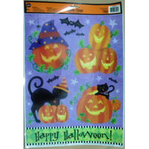Halloween Calcomania Para Ventana,decorativas, Sickers
