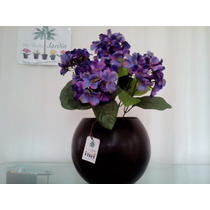 Arreglo Floral Con Hortencias