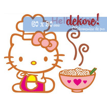 Hello Kitty Chef Sticker Decorativo ... Dekore!