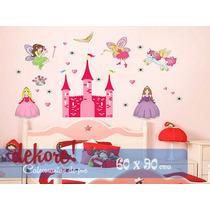 Hadas Y Princesas Sticker Decorativo... Dekore!