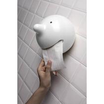 Porta Papel Para Baño Mr. P Decora Dispensador Divertido