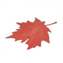 Tope De Puerta En Forma De Hoja Roja Ó Naranja Nueva Maple