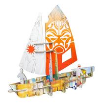 Barco Armable Velero Decorativo Diseño Design Nuevo