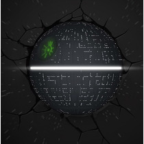 Star Wars Death Star Light Lampara Preventa Force Awakenes