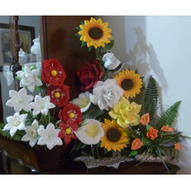 Moldes Para Hacer Flores Y Figuras De Fomi Fomy Foamy