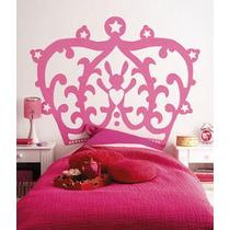 Hermoso Vinilo Decorativo Corona Princesa