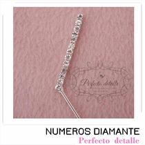 Numeros Diamante 1 Año Ch Para Decoracion Pastel Aniversario