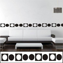 Stiker Vinil Cenefa Decorativa