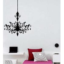 Stiker Vinil Decorativo Candelabro