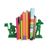 Sujeta Libros Bookends Soldados Guerra Soldaditos Juguete