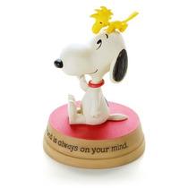Figura De Resina Snoopy Woodstock 1