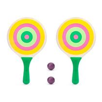 Set De Ping Pong Paletas Y Pelotas Diseño Divertido Nuevas