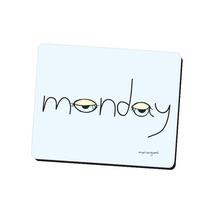 Mouse Pad Diseño Monday Mariorigami Divertido Accesorio