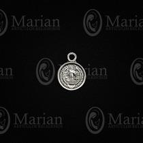 Medalla San Benito Mini Metal Paquete D 12pz A Solo $12.00
