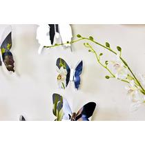 12 Espejos Decorativos Diseño Mariposa Moderno Minimalista