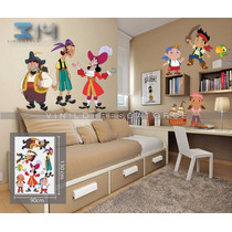 Vinilo Decorativo Pirata Jake-i 01 Calcomanía De Pared.