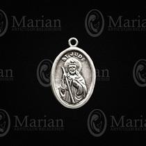 Medalla Oval San Judas Metal Paquete D 12pz A Solo $25.00