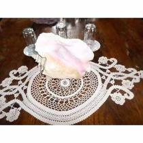 Caracol Antiguo De Mar Con Toalla Crochet 28 X 22cm