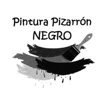 Pintura Pizarrón Negro 1 Litro Decora A Gis Vintage Paredes