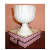 Copa De Vidrio Milk Glass Vidrio Blanco De Leche