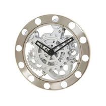 Reloj De Pared Engranes Metalico Moderno Kikkerland