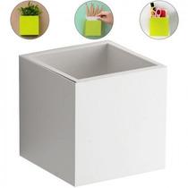 Repisa Flotante En Forma De Cubo Blanco Decorativo Entrepaño