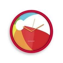 Reloj De Pared Con Diseño De Pelota Playa Kikkerland Nuevo