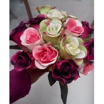 Bouquet De Rosas Artificiales