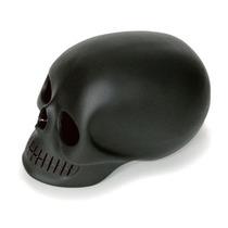 Craneo Decorativo De Resina Mono Negro Skull Nuevo Decora