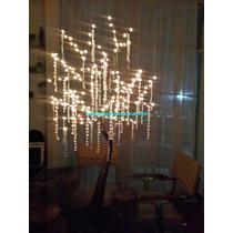 Árbol De Los Deseos Con Luces, 160 Luces Y Base Integrada
