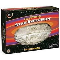 Explosión De La Estrella Que Brilla En La Oscuridad Set