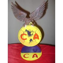 Aguila De Madera America 17cm X 30cm X 2 Cm De Espesor