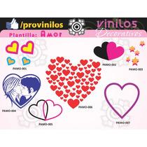 Vinilos Decorativos Con Tematica De Amor