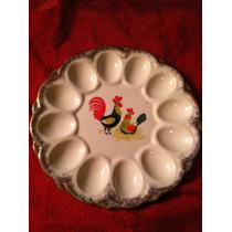 Plato Decorativo Para Huevos